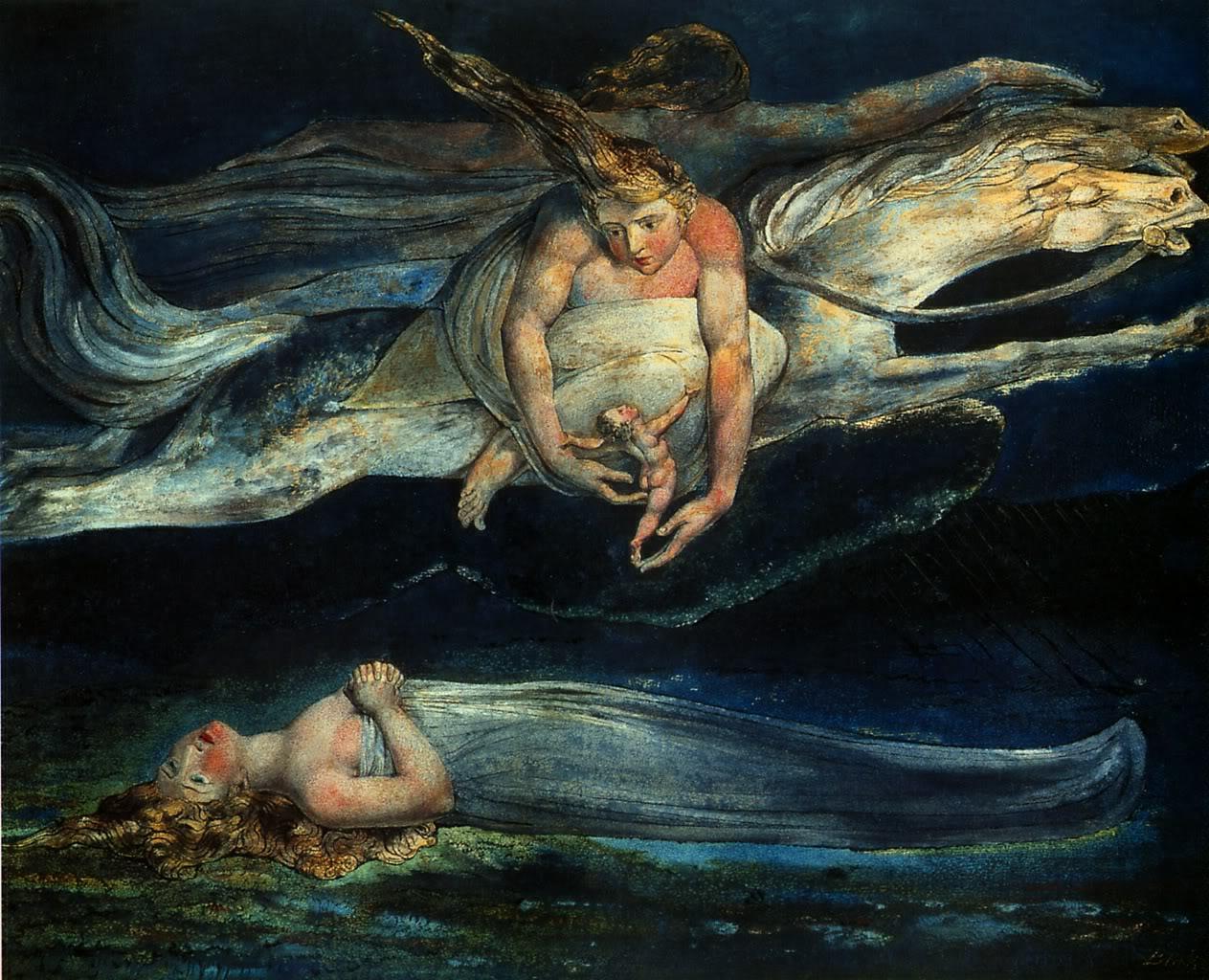 William Blake - Pity - 1795