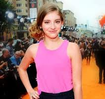 Willow Shields at KCA'S