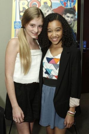 Willow and Amandla at Tiger Beat's and Bop's KCA's
