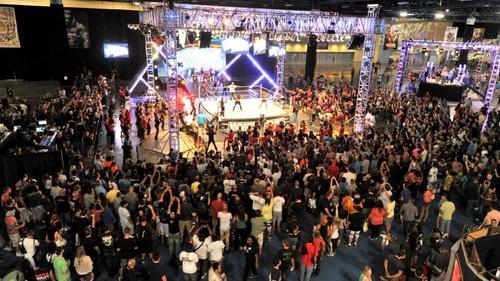 Wrestlemania Axxess Flash Mob