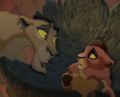 Zira and cub Kovu - the-lion-king-cubs photo