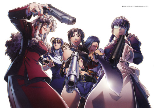 Black Lagoon wallpaper possibly containing anime called black lagoon
