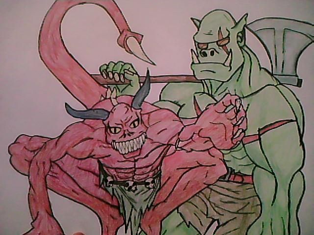 demon & troll