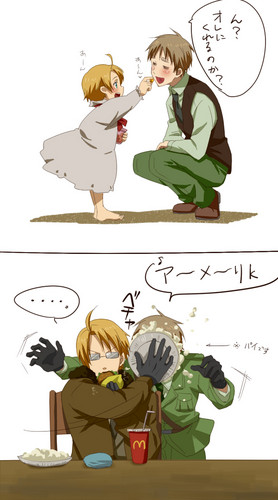 Hetalia wallpaper called funny/cute