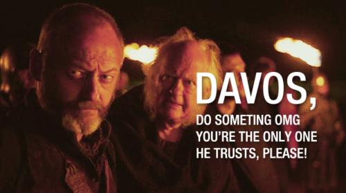 Maester Cressen & Davos