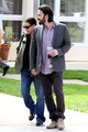 holding hands as they leave their girls' school - ben-affleck-and-jennifer-garner photo