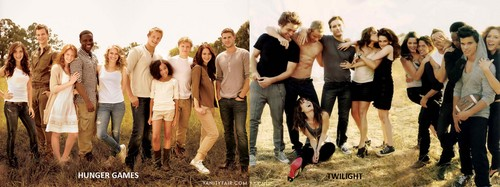hunger games twilight प्यार em both