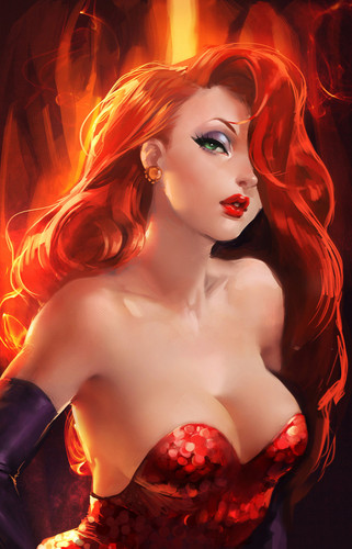 Jessica Rabbit kertas dinding called jessica