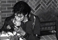 mj & bubbles - michael-jackson photo