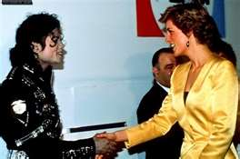 mj & princess diana