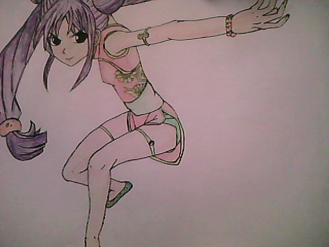Girl Ninja Drawing Ninja Girl Anime-drawing