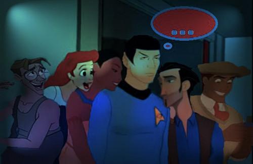 non/disney loves spock