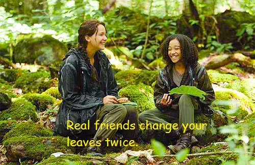 Katniss and Rue images rue and katniss wallpaper and background photos