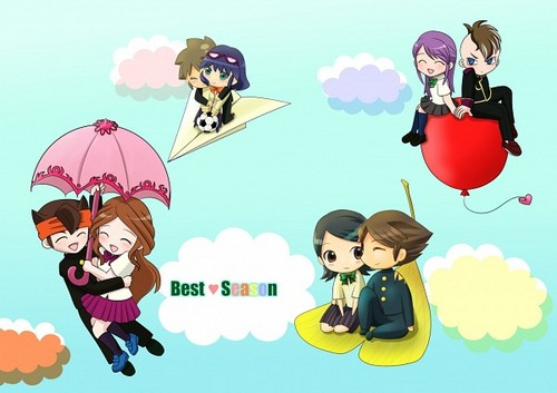 <3 cute couples ^_^