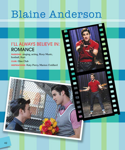 Glee wallpaper containing anime titled 'Glee' Official William McKinley High School Yearbook