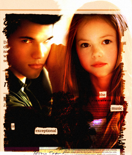  Jacob &amp; Renesmee  - twilight-couples Fan Art