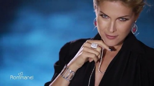 Ana Hickmann wallpaper probably containing a portrait called 'Rommanel 2012: Coleção de Joias Folheadas'
