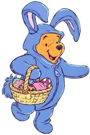 Winnie the Pooh wallpaper with Anime titled !st giorno of Easter Week in the 100-Acre Wood