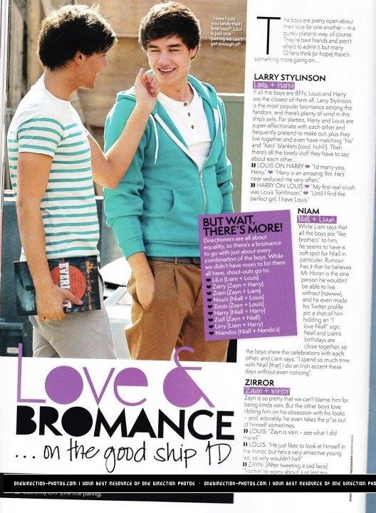 1D bromances!