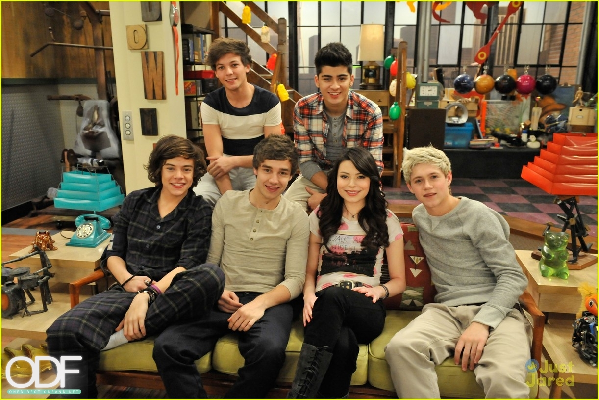 One direction images 1d on icarly igo one direction ep hq stills