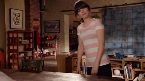न्यू गर्ल वॉलपेपर with tights titled 1x19 - Secrets