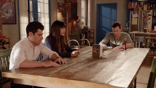 न्यू गर्ल वॉलपेपर called 1x19 - Secrets