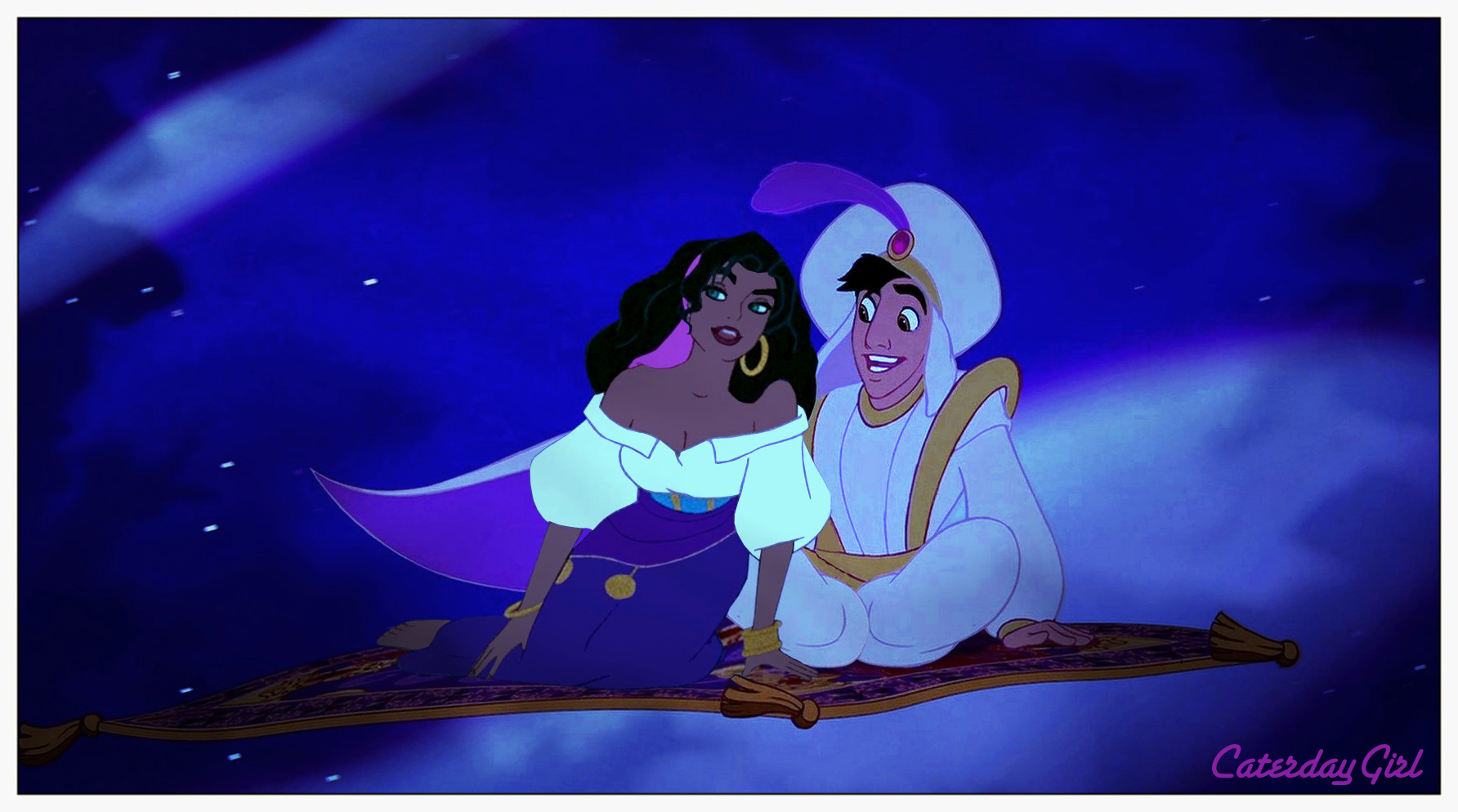 A Whole New World - disney crossover Photo (30350696) - Fanpop