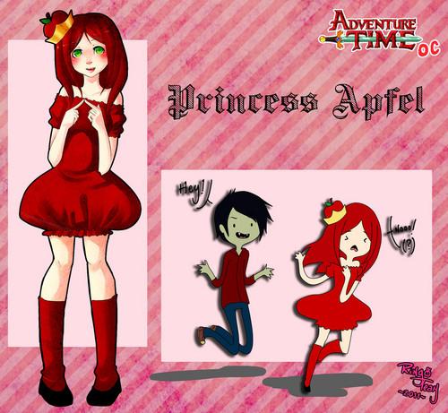 Adventure Time OC -Princess Apfel