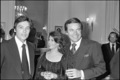 Alain Delon, Nat and RJ in 1978