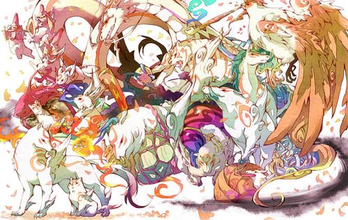 Amaterasu and the Brush Gods