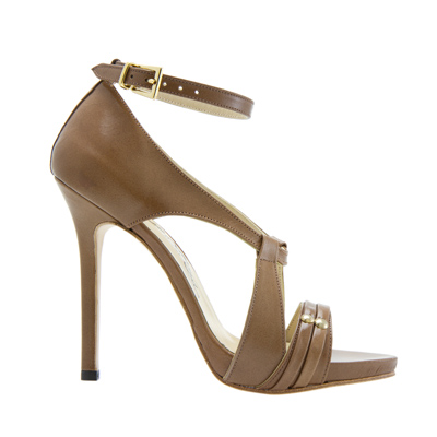 Tan Leather Sandals, Anne Boleyn