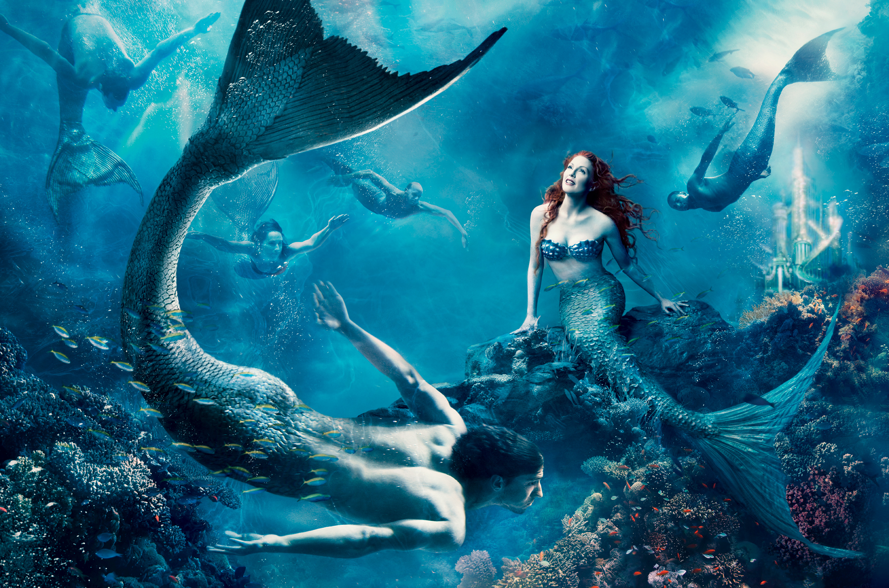 Ariel Wallpaper Mermaids Rock Love Poster Film Indonesia