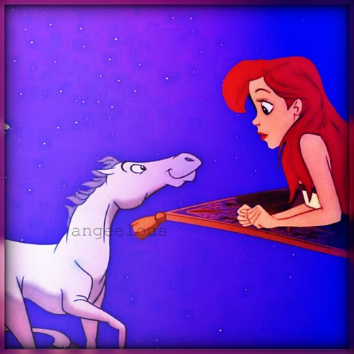 Ariel in the Carpet♥.