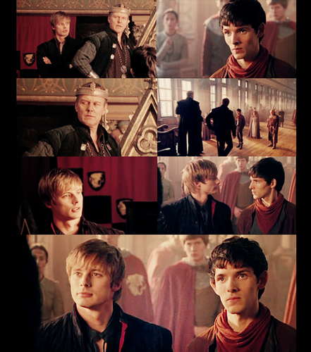 Arthur, Uther and Merlin