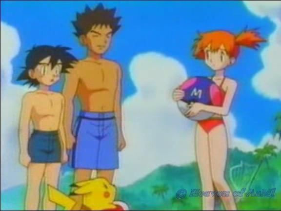 Ash, Misty, and Brock