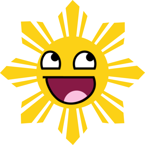 Awesome Smiling Philippine Sun