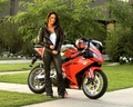 motorcycles - APRILIA & BABE wallpaper