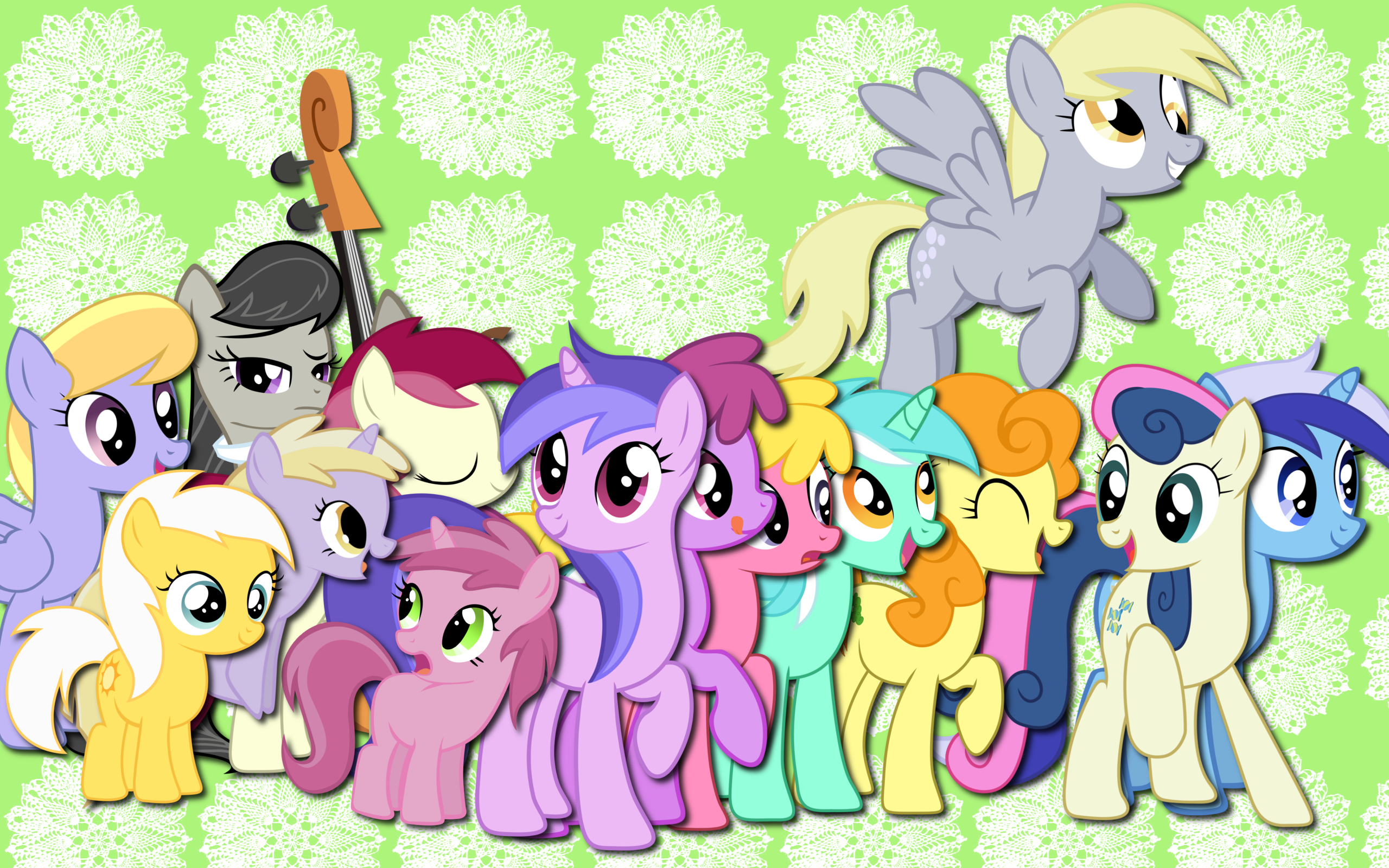 Background poni, pony Fun!
