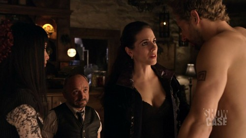 Lost Girl wallpaper possibly with a portrait titled Bo & Dyson