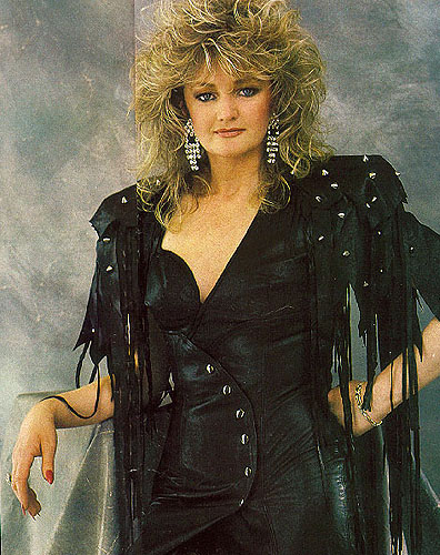 80's music wallpaper possibly containing a trench coat and a pea jacket titled Bonnie Tyler ♥