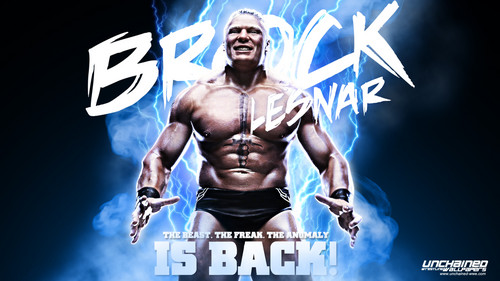 WWE 바탕화면 titled Brock Lesnar