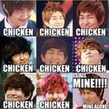 CHICKEN!!!! :P