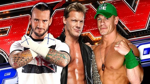 CM Punk,Chris Jericho,John Cena