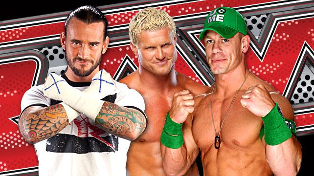 CM Punk,Dolph Ziggler,John Cena