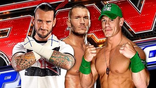 CM Punk,Randy Orton,John Cena