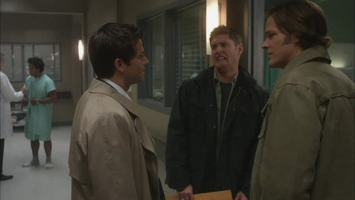 Castiel, Sam And Dean