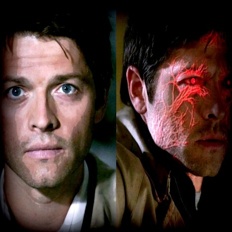 Castiel Then and Now