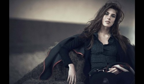 princess charlotte Casiraghi wallpaper with a well dressed person titled Charlotte Casiraghi as the new face of Gucci