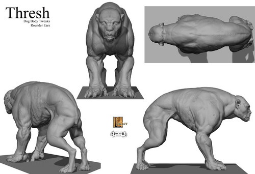 Concept Art for the Muttations