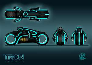 Cycles - tron-rpg-grid-games Photo